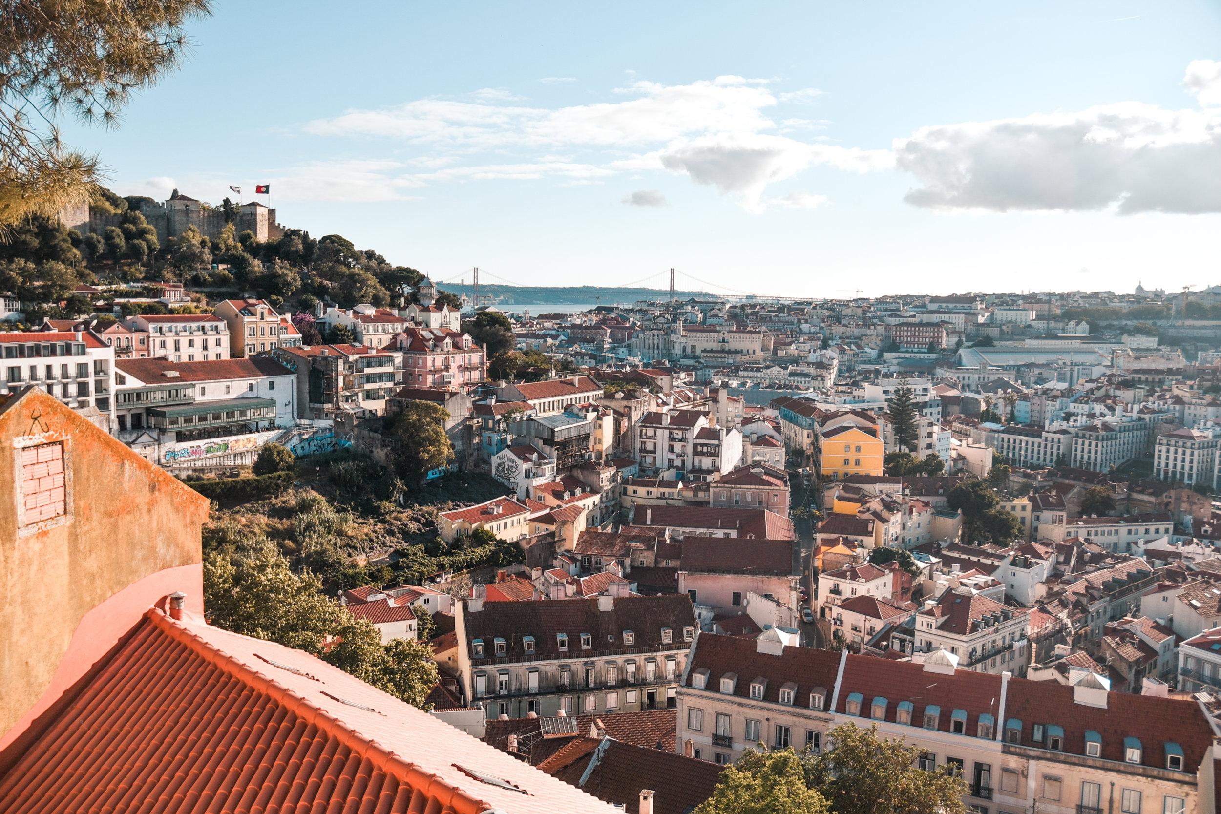 colorful Lisbon -