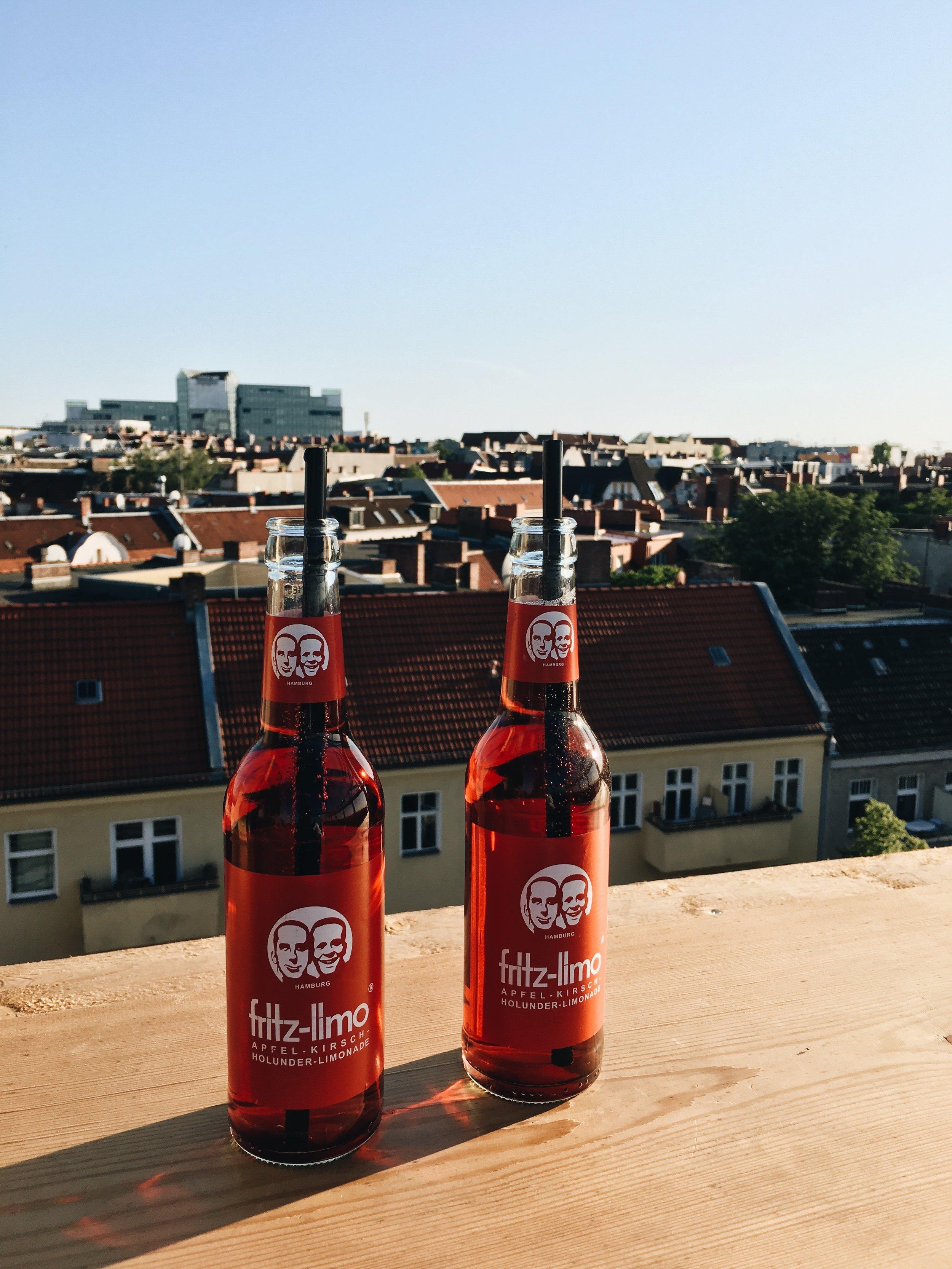 Klunkerkranich - located on top of a shopping centre in Neuköln, best summer rooftop bar, lots of alternative festivals & live music