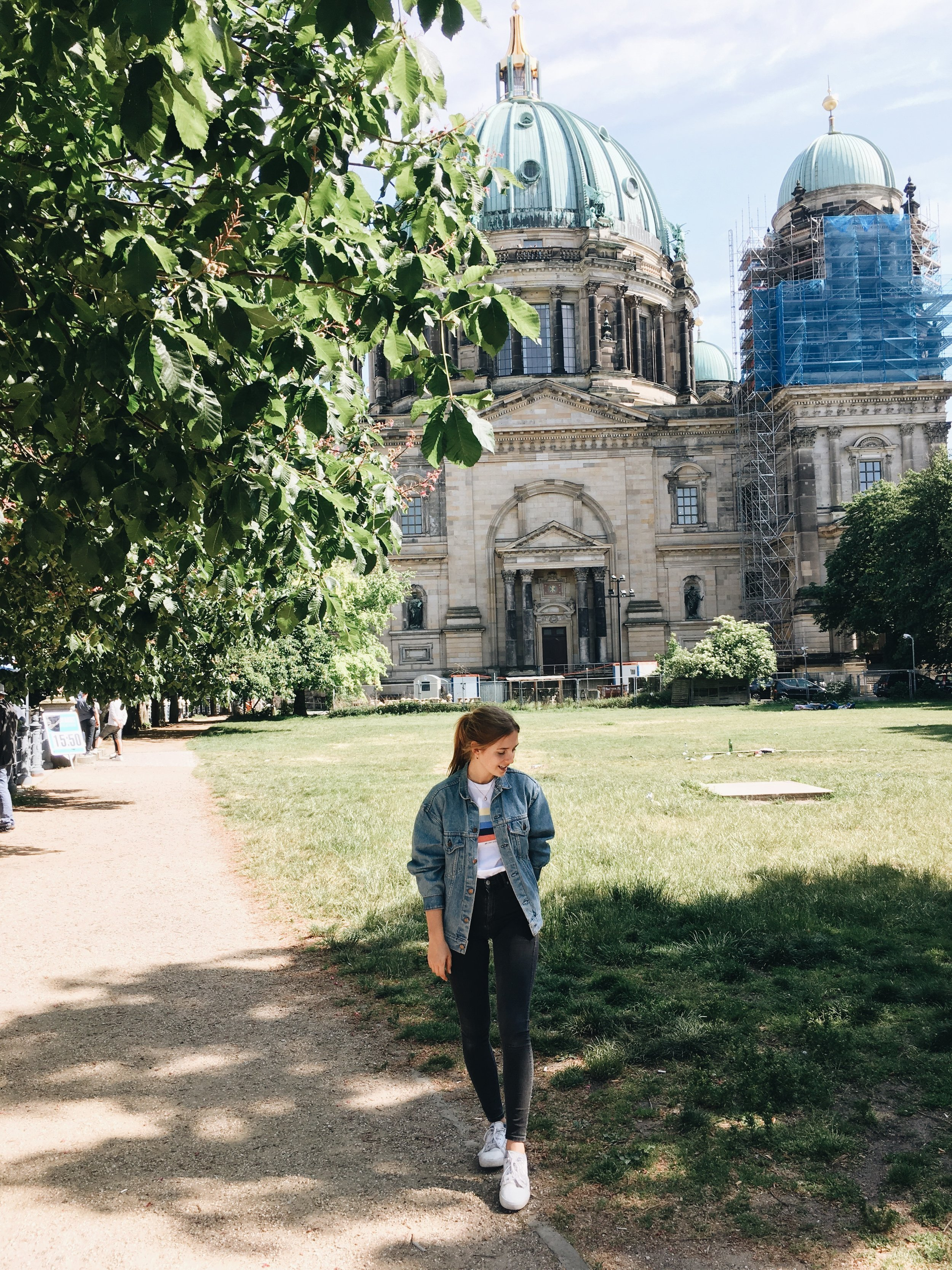 Museum Island - have a rest on the museum island and take a look at all the pretty historic buildings around