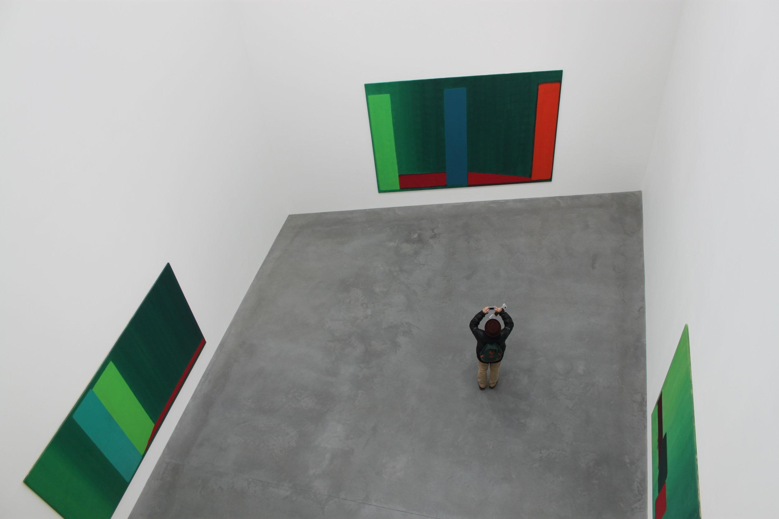 """John Hoyland: Power Stations - Paintings 1964-1982"", Newport Street Gallery"