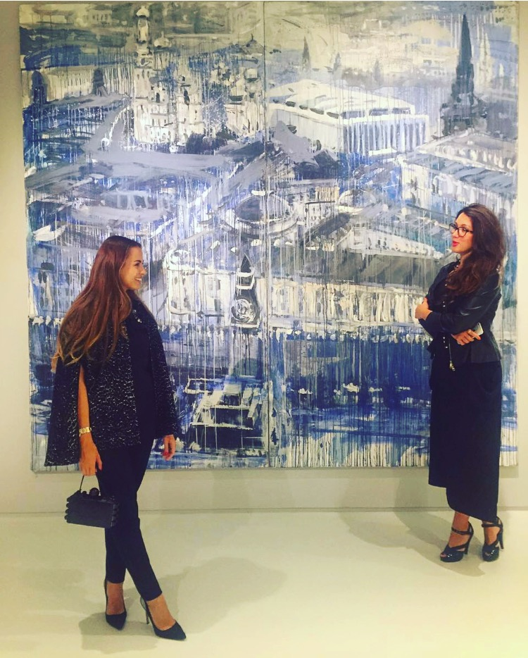 Maria Korolevskaya and Anastasia Petrovskaya (The Art Partners)