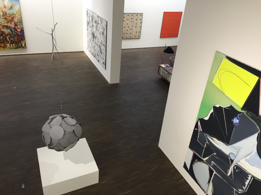 Installation view of 'My Abatract World' exhibition at me Collectors Room. (Image courtesy of The Art Partners)
