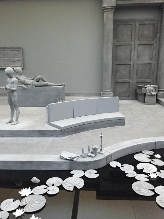 Hans Op de Beeck's  The Collector's House