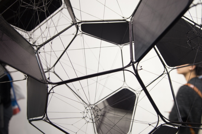 Thomas Saraceno at Esther Scipper