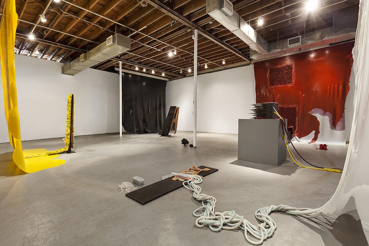 Martha Friedman ' Pore ' installation view