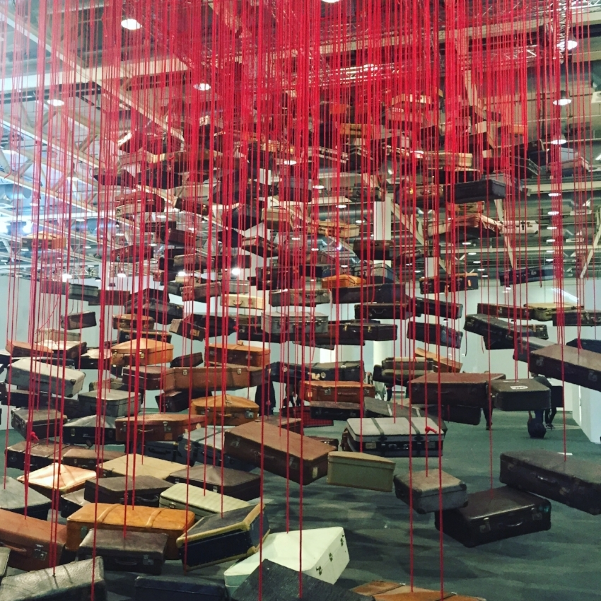 Chiharu Shiota  'Accumulation: Searching for Destination'