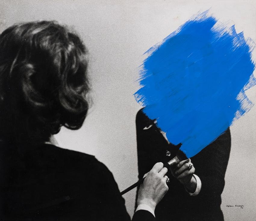 Exhibition view of Helena Almeid, 'My work is my My Body', Jea de Paume