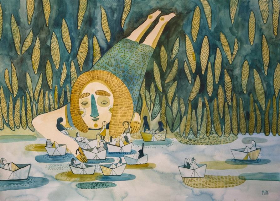'Harbour' by  Mirjam Siim (Winner of the Ashurst Emerging Artist Prize 2016)