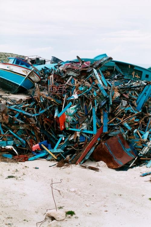 Wolfgang Tillmans, Lampedusa, 2008© of the artist