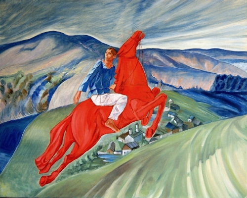 Kuzma Petrov-Vodkin, Fantasy, 1925, © 2016, State Russian Museum, St. Petersburg.