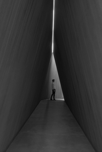Richard Serra, NJ-2 (detail), 2016, © Richard Serra. Photo by Mike Bruce