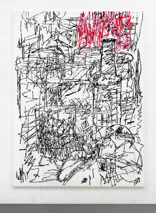 Chris Succo, At the Drawing Room, 2016. Image Courtesy: of the artist and Almine Rech Gallery