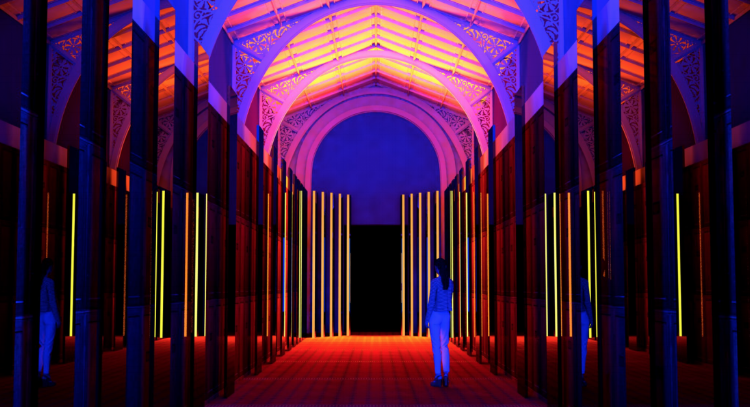 Reflection Room by Flynn Talbot, Image courtesy of Victoria & Albert Museum