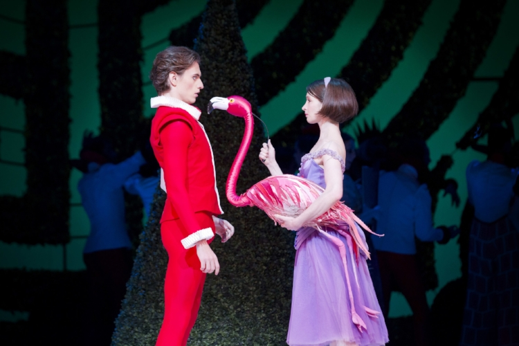 The Knave of Hearts and Alice in Alice's Adventures in Wonderland, The Royal Ballet © ROH