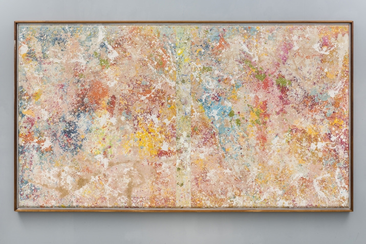 Sam Gilliam Onion Skin, 1975 . Image courtesy of Pace gallery