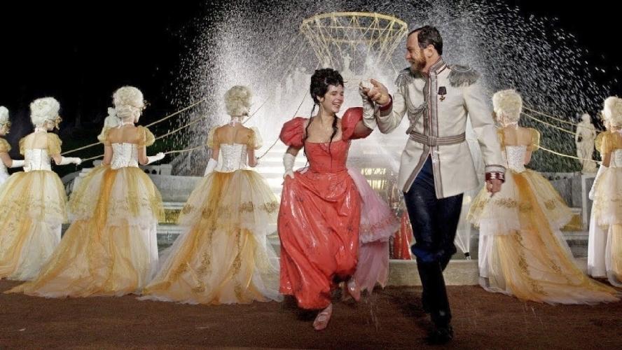 "Michalina Olszańska as the prima ballerina Mathilda-Marie Feliksovna Kschessinskaya and Lars Eidinger as Tsar Nikolai II ( ""Mathilda"" directored by Aleksei Uchitel )"