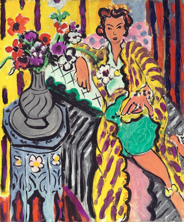 Henri Matisse, Yellow Odalisque, 1937. The Samuel S. White 3rd and Vera White Collection, 1967 Photo © Philadelphia Museum of Art. Artwork: © Succession H. Matisse/DACS 2017