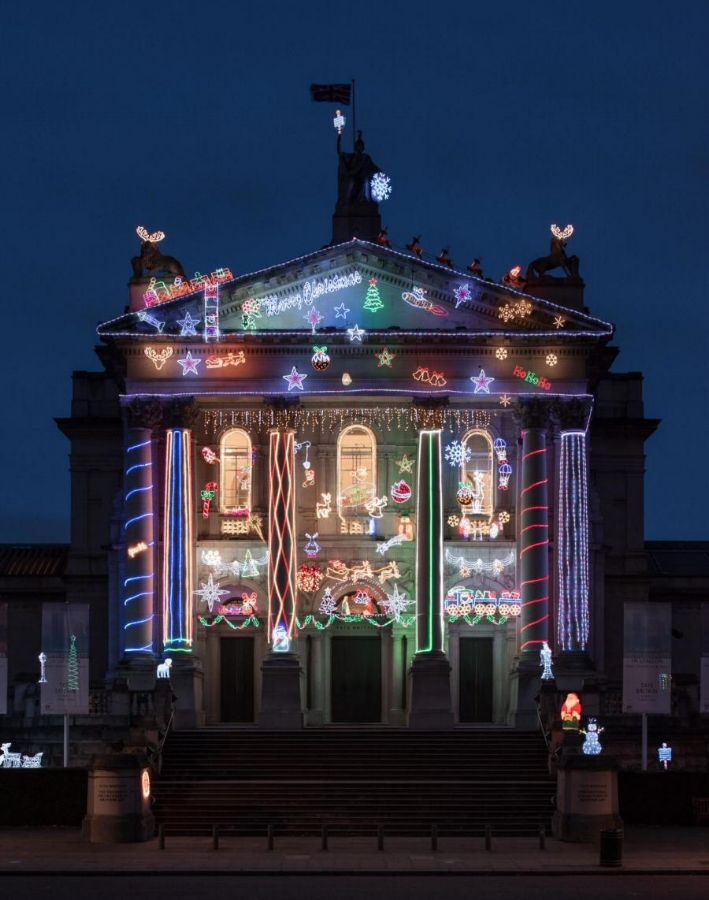 Home for Christmas: A Commission for Tate Britain by Alan Kane   Photo credit: Photo © Tate, Joe Humphrys