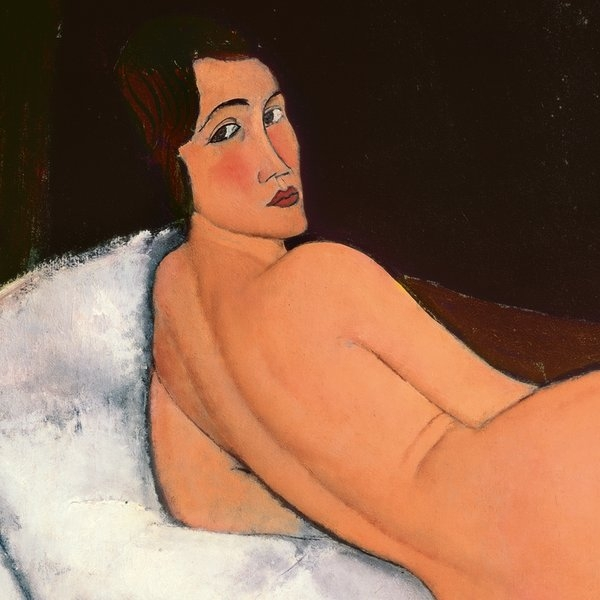 Amedeo Modigliani  Nude  1917 (detail) Private Collection