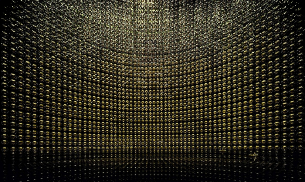 Andreas Gursky, Kamiokande, 2007 © Andreas Gursky. Courtesy Sprueth Magers