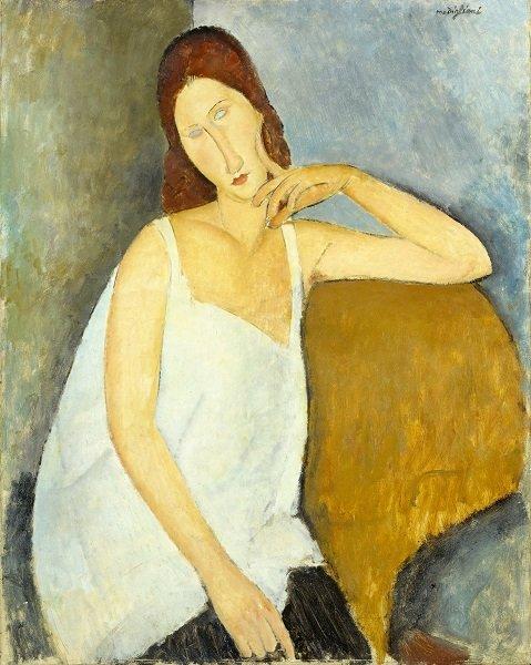 Amedeo Modigliani Jeanne Hébuterne 1919 The Metropolitan Museum of Art, New York