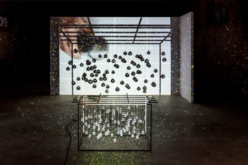 Joan Jonas  Reanimation 2010/2012/2013 Multimedia installation. Courtesy Joan Jonas and Gavin Brown's enterprise, New York/Rome. Photography: Thomas Müller