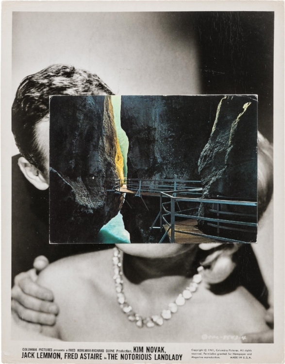 John Stezaker, Double Mask II (Film Portrait Collage), 2017 Image courtesy of the artist and the gallery