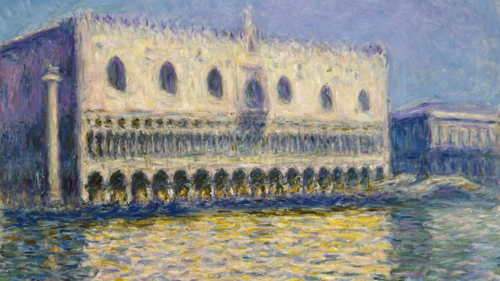 Claude Monet's 'The Doge's Palace' (1908) © Brooklyn Museum of Art