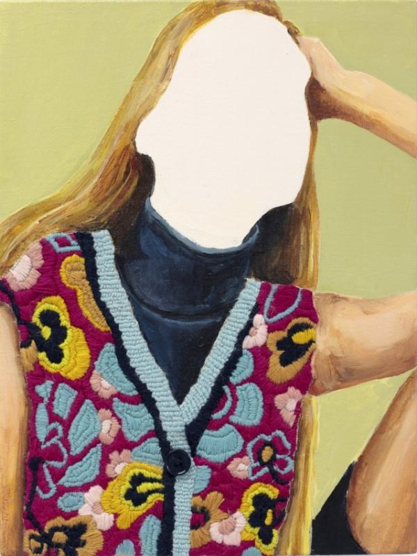 Jennifer Louise Martin, Blue Funk 2018 Image courtesy of the gallery