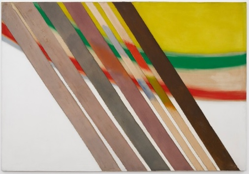 Sandra Blow, Stripes (1978) © courtesy Victoria Miro Gallery
