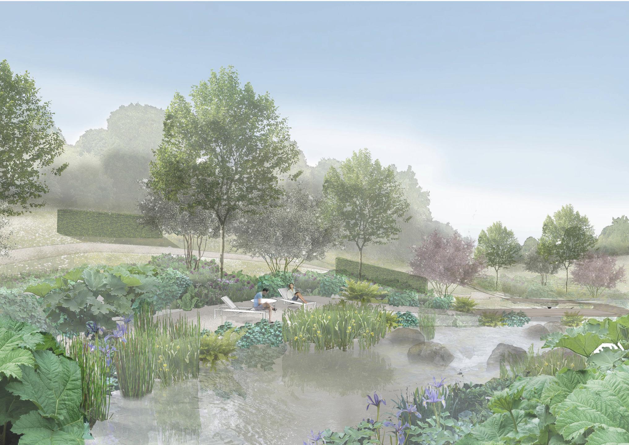 Devon Garden -