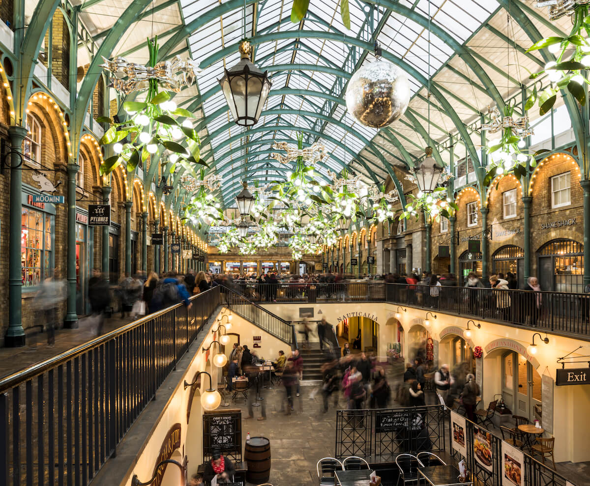 Covent Garden © visitlondon.com and Ben Pipe