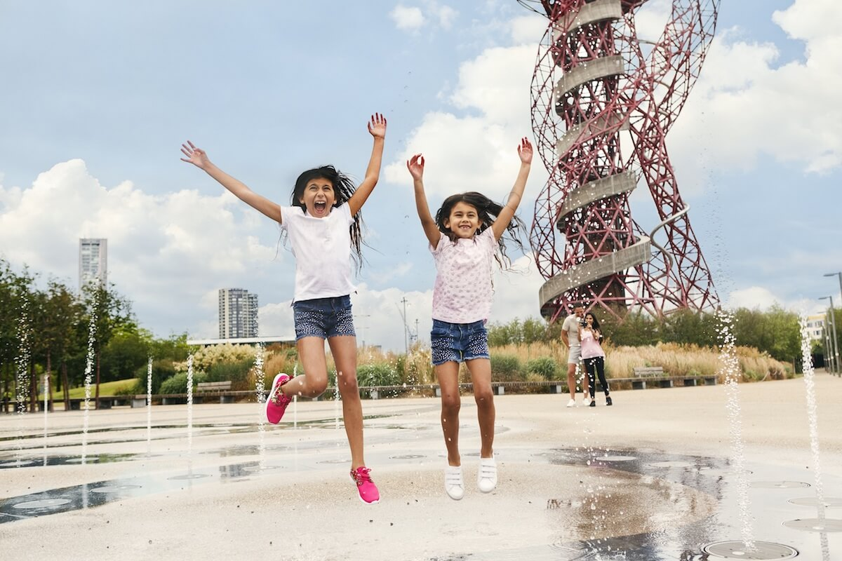 Fountains at Queen Elizabeth Olympic Park.jpg