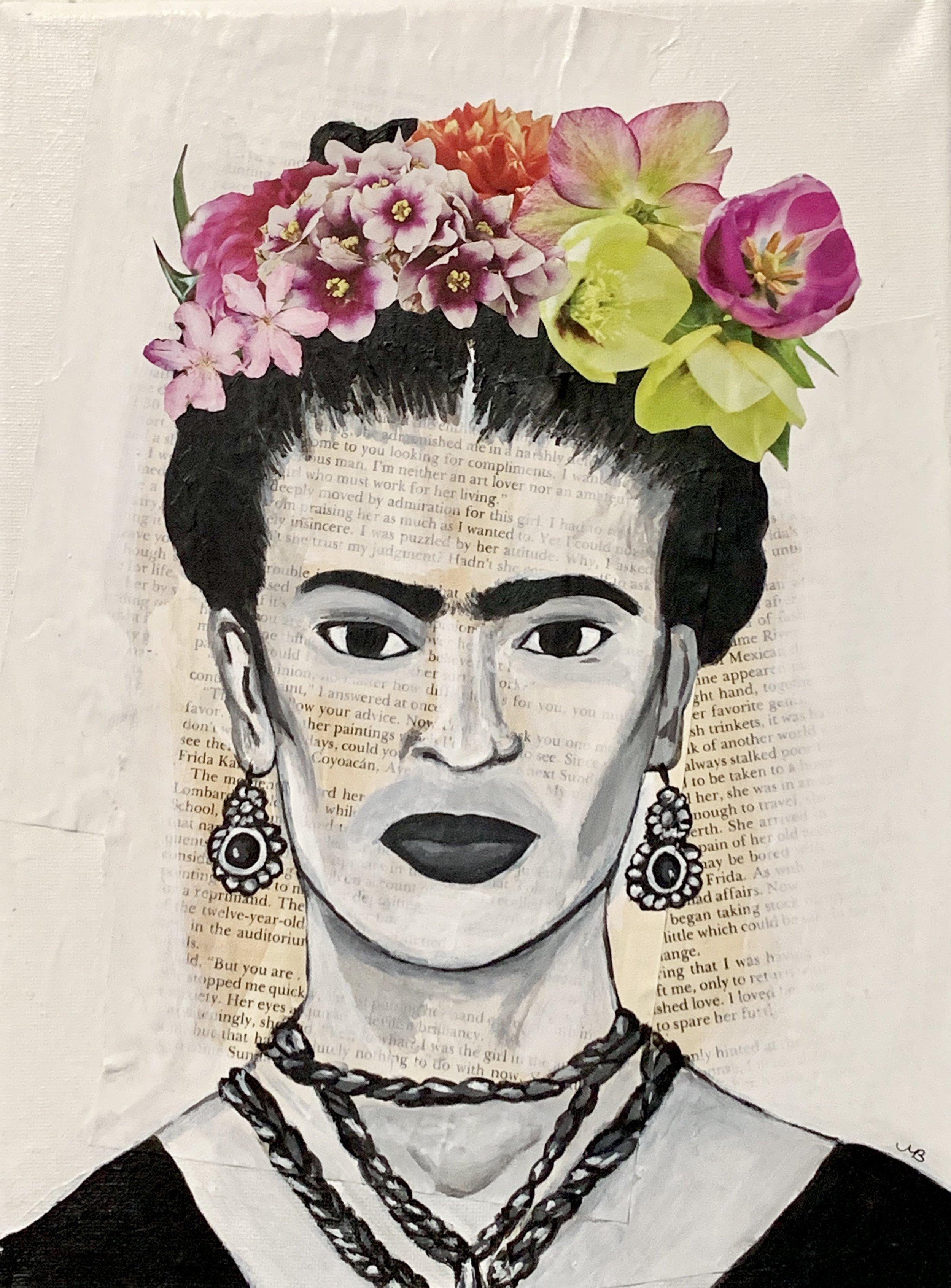"""""""Devilish brilliance (Frida)"""", 12x9"""" $250"""