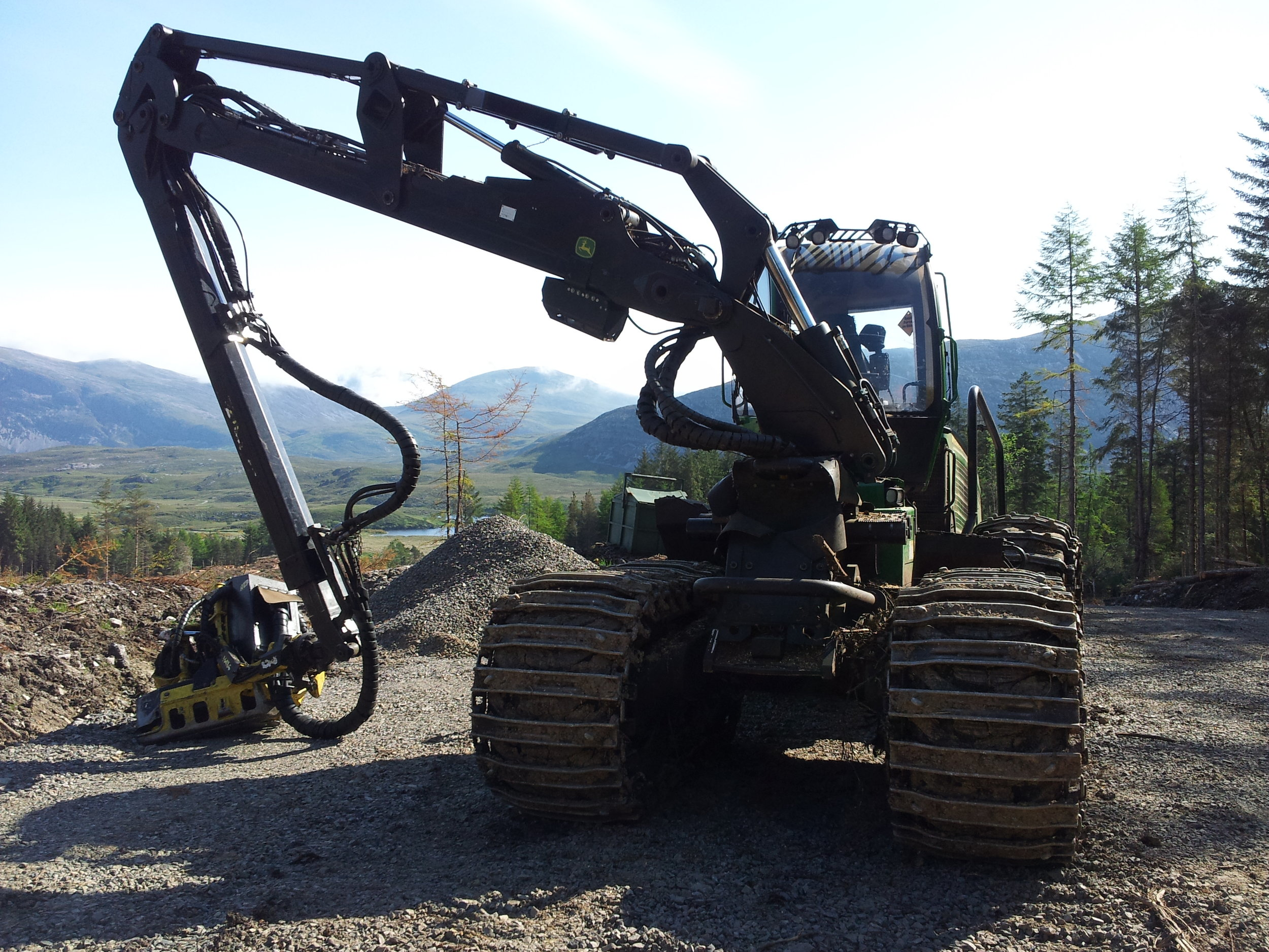 Mechanised timber harvesting