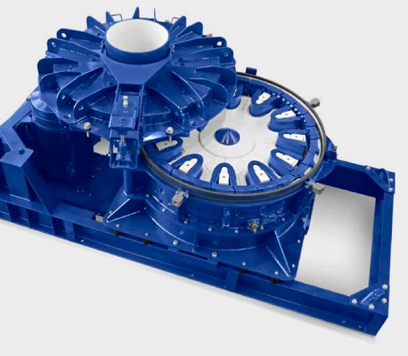 Rotor impact mill