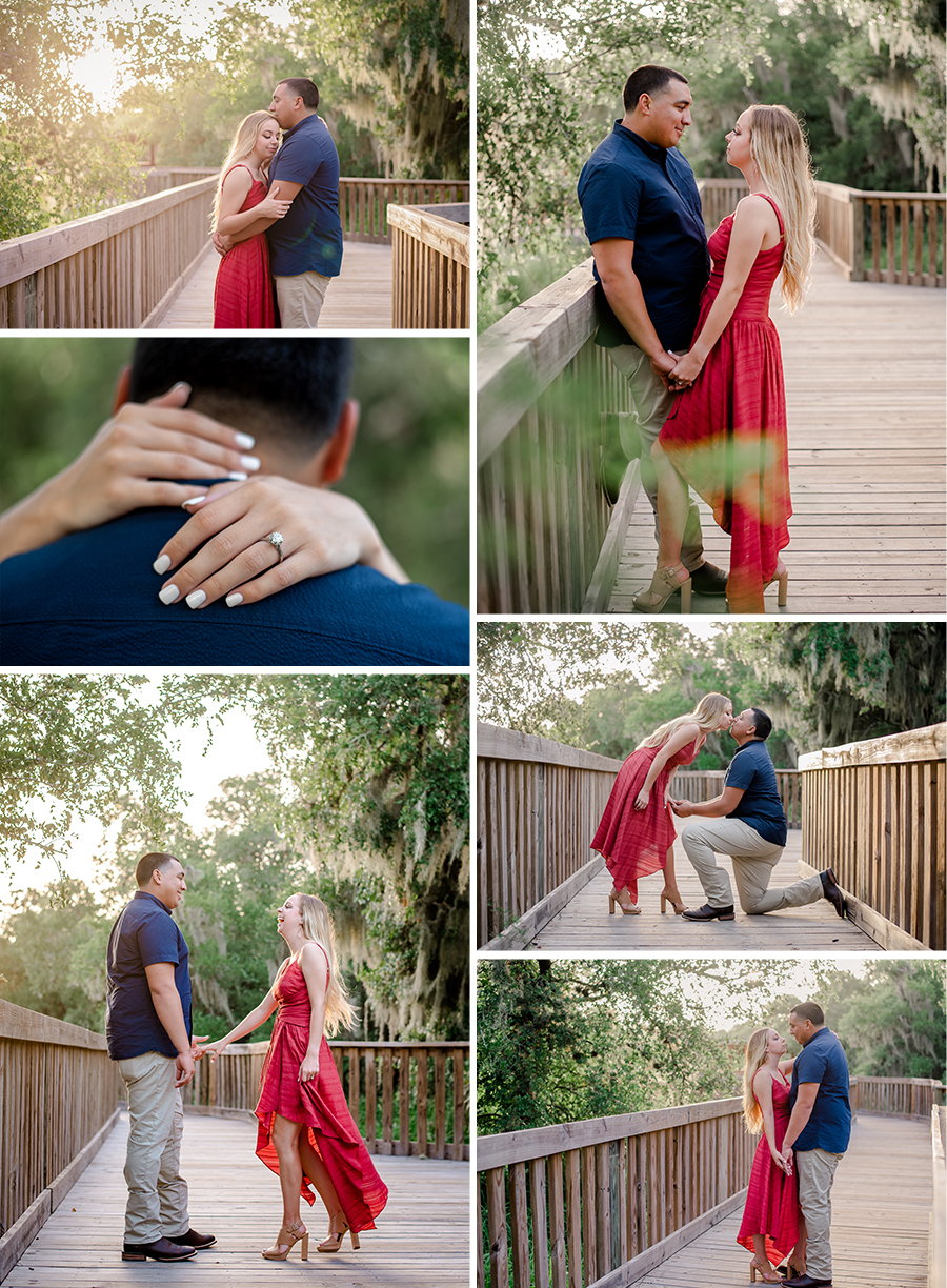 Hazel Bazemore engagement session