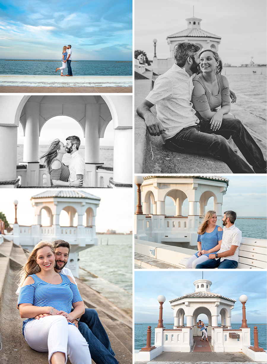 Corpus christi downtown engagement