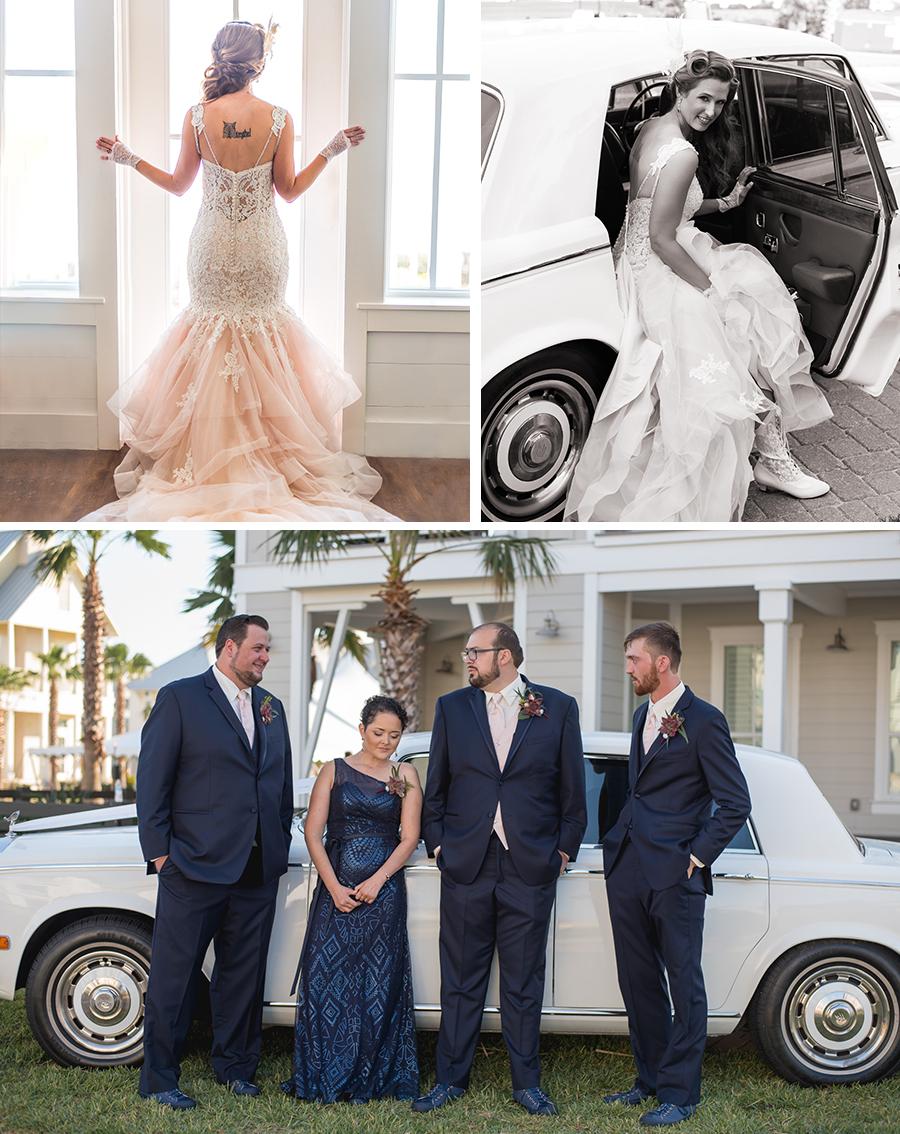 Cinnamon shores port aransas wedding photographer