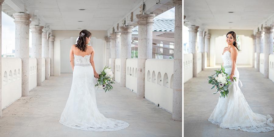 art center bridal session