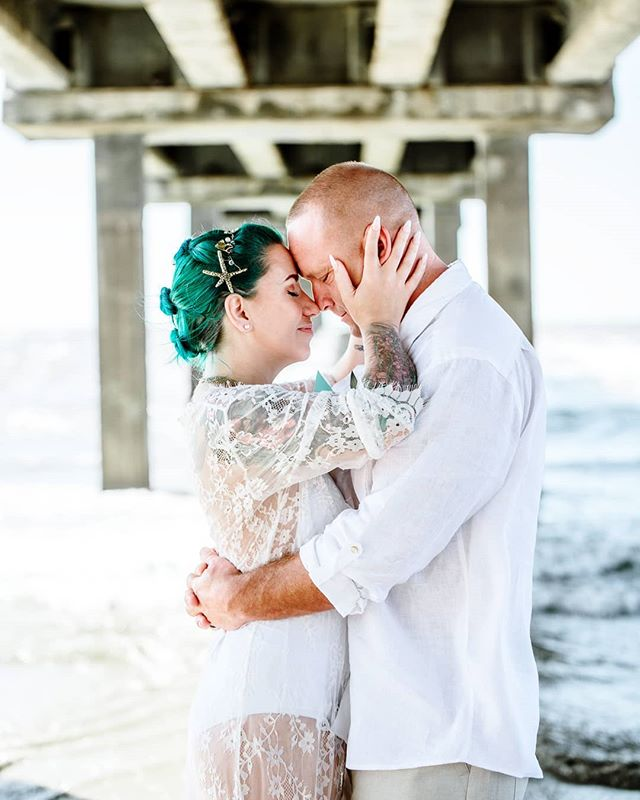 """I have to go ahead and share this one from this morning's beach elopement! Kimberly is like a badass mermaid babe and taking their photos let me get a bit of the """"edge"""" I  have been craving to capture out!! I LOVED LOVED LOVED how she went all out beach in wedding swimwear!! Can't wait to go through the rest. . . . . . . . . . #corpuschristiphotographer #corpuschristiengagement #corpuschristiweddingphotographer #portaransas #texasbeach #elopementphotography #portaransasphotographer #portaransaswedding #weddingideas #shoplocalcc #mermaidvibes #wanderingweddings #radlovestories #elopementcollective #huffpostwedding #junebugweddings #adventurouslovestories #beachwedding #destinationwedding #corpuschristitx #padreisland #weddingdayready #beachelopement #weddinginspiration #southtexasbrides #texasweddings"""