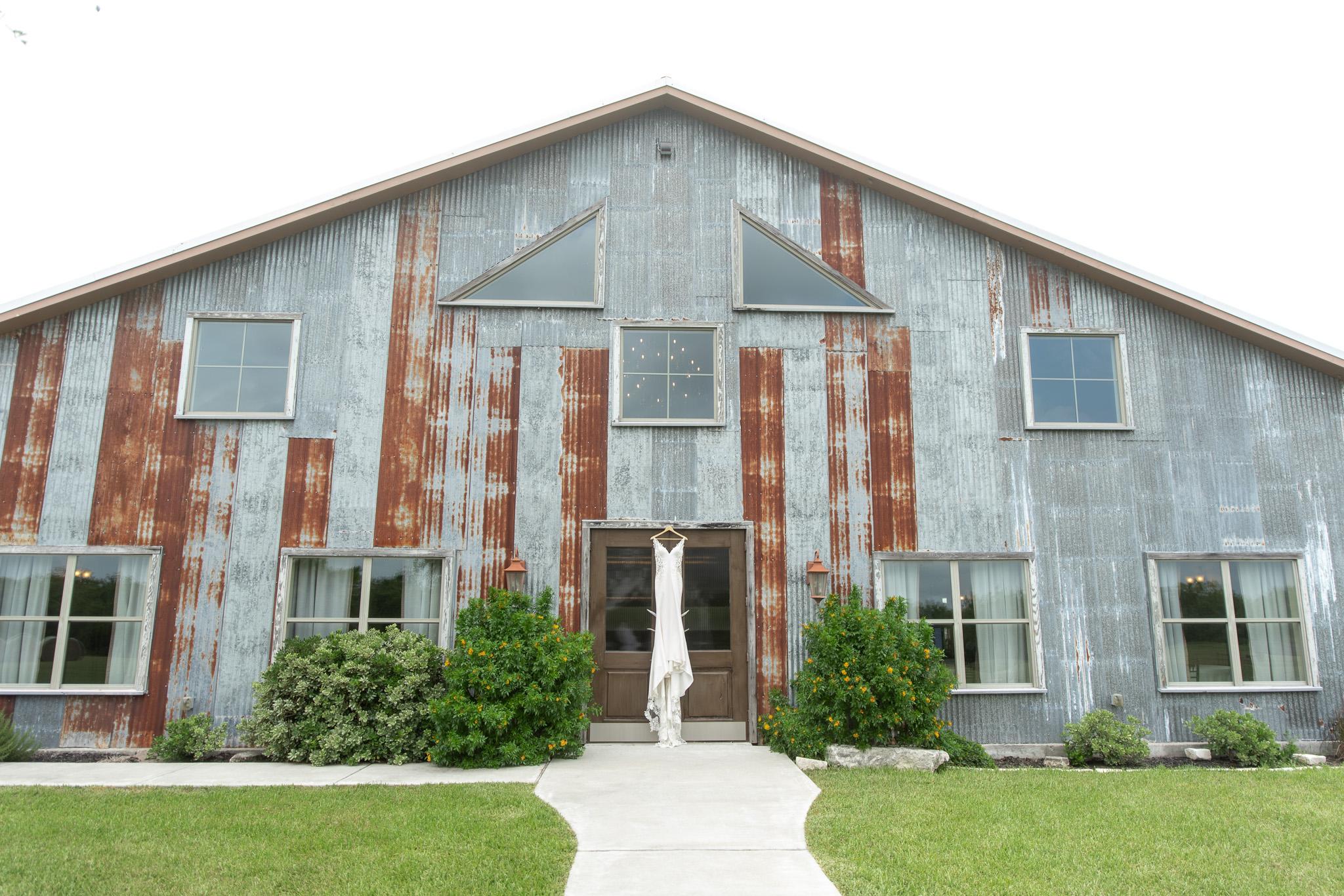 The Ranch at San Patricio - wedding dress -  detail photo