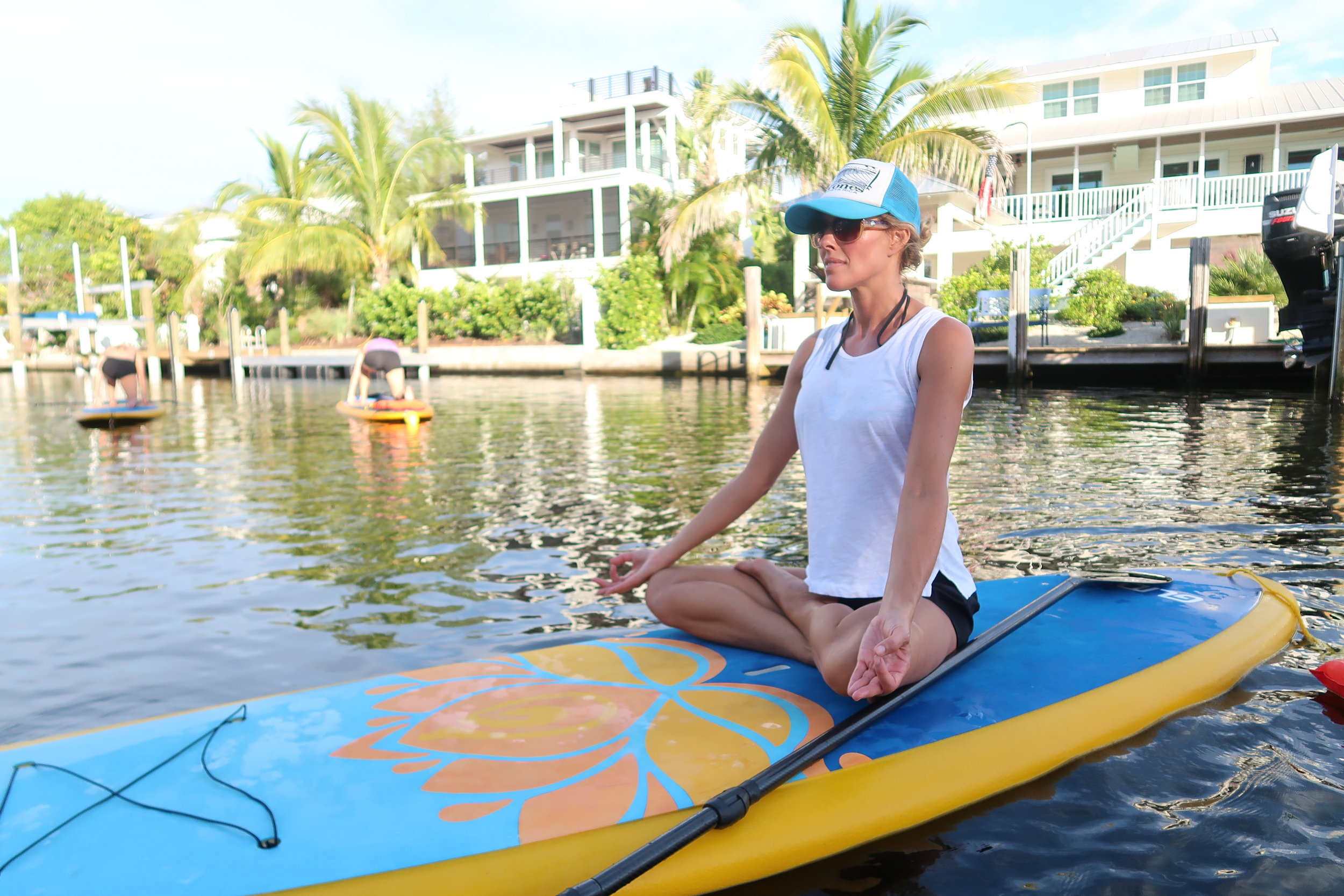 SUP Yoga on Anna Maria Island