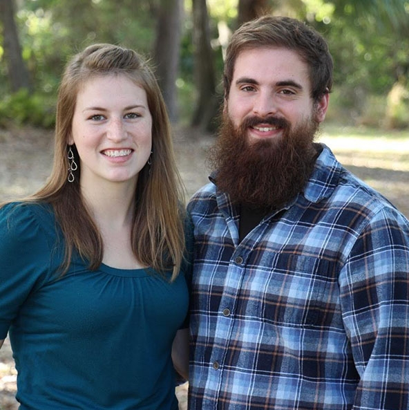Jacob and Samantha McRae  Jacob and Samantha are first year staff members, having graduated from the Emmaus School of Biblical Studies in 2017. Jacob has undergone YWAM's DTS course and has also spent time as a youth pastor for his home church in Virginia, his current passions are woodworking and training bible students. Samantha hails from Alaska, where she and Jacob met. Along with her passion for Inductive Bible Study, Samantha is an avid reader and lover of animals. Read more about their lives on their website: jacobsamantha.wordpress.com