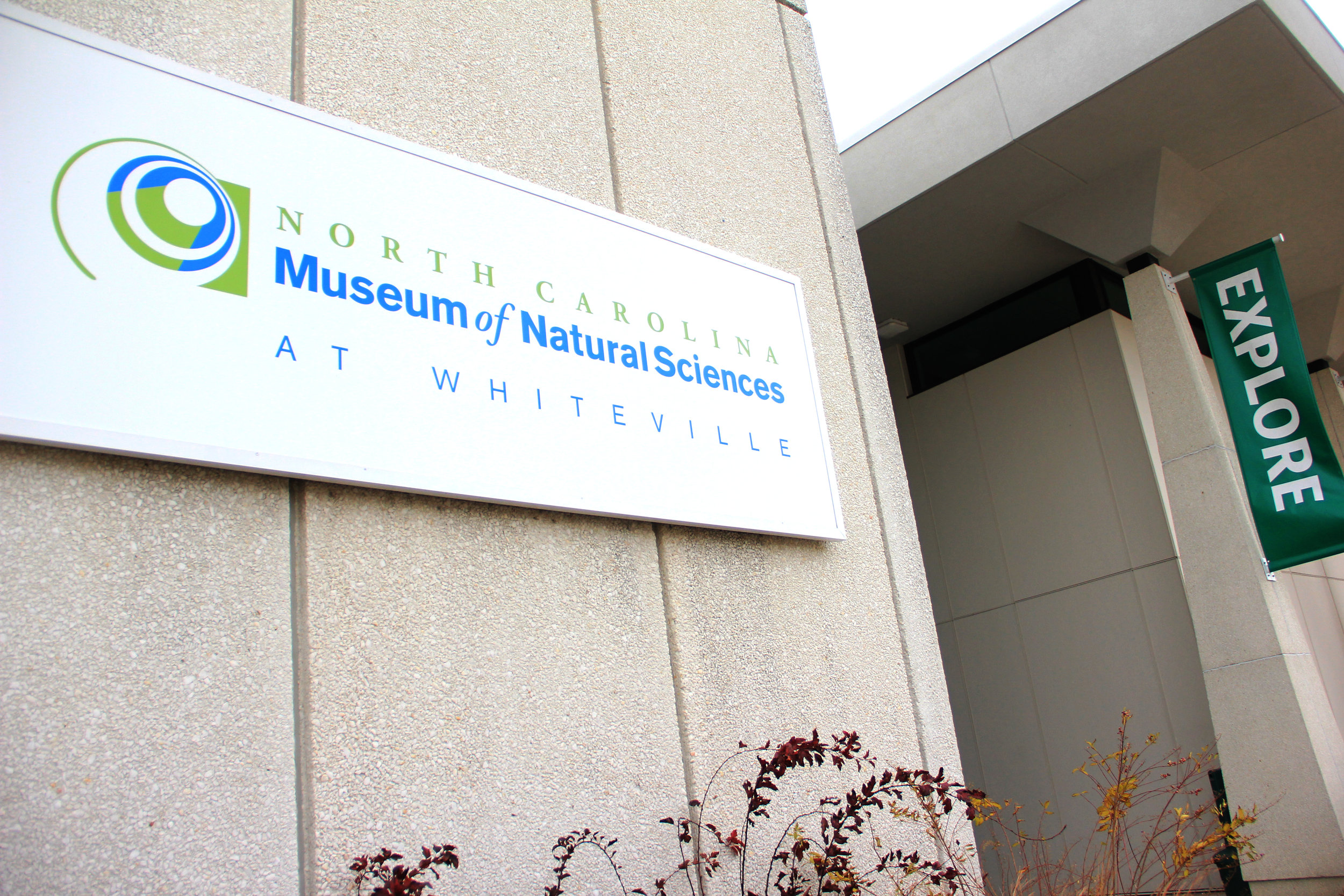 NC Museum of Natural Sciences sign.JPG