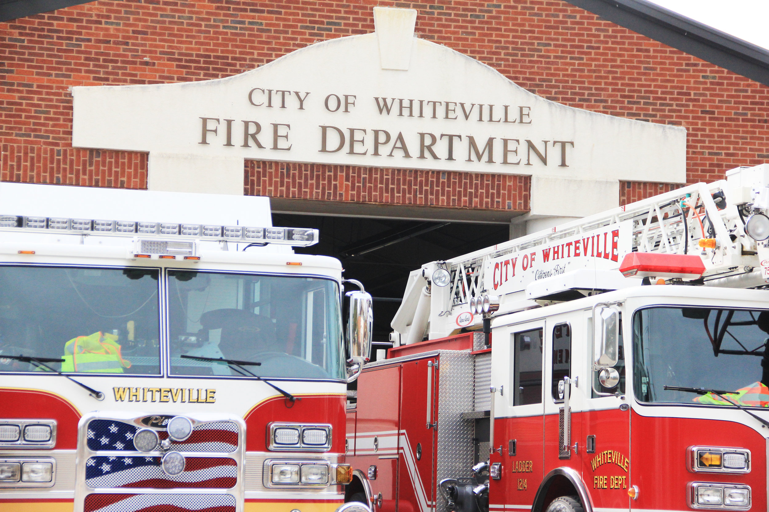 """Almost anywhere you go now, there are chemicals in the materials in the fire,"" Whiteville Fire Chief David Yergeau said. """