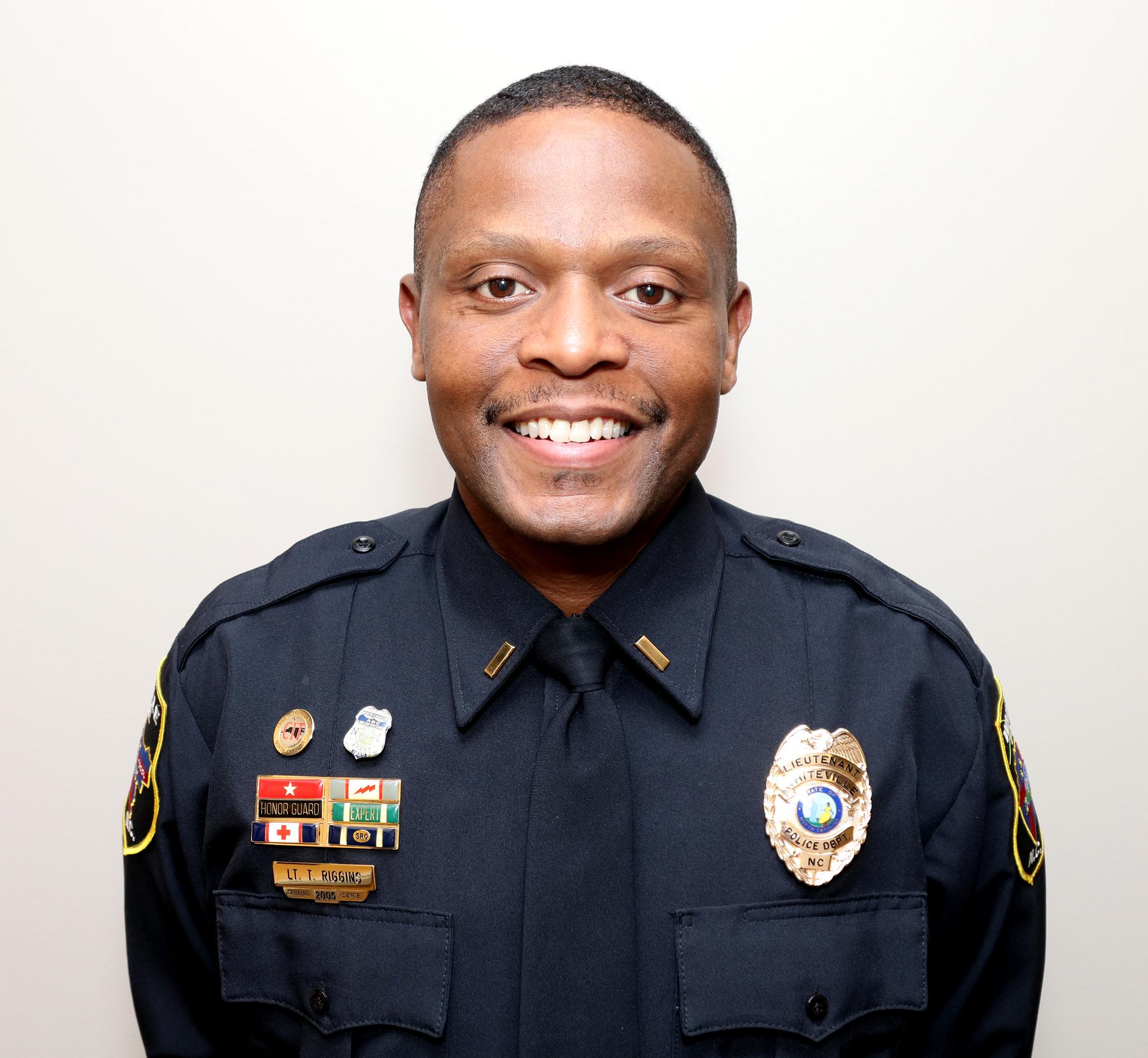 Patrol Commander Lt. Thomas Riggins  triggins@ci.whiteville.nc.us