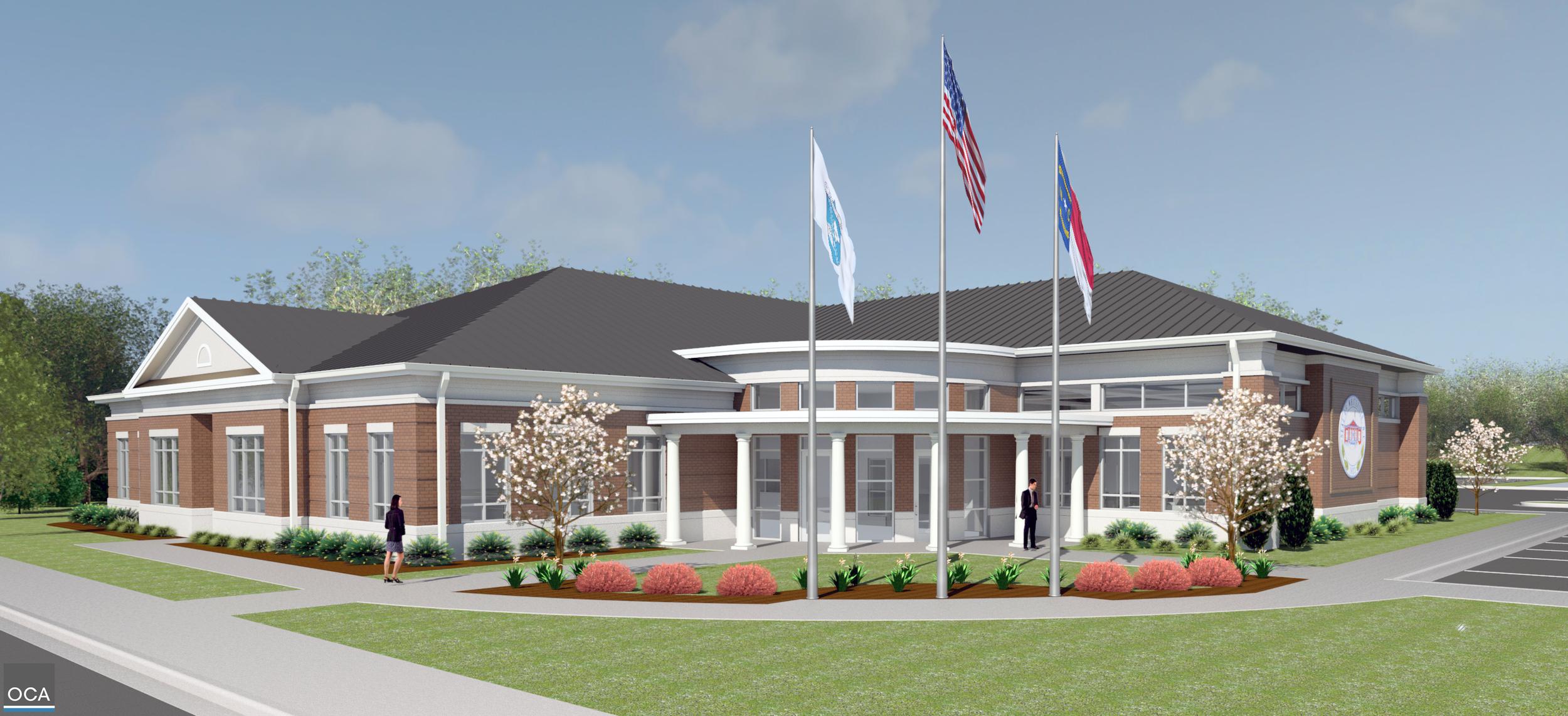 New Whiteville city hall