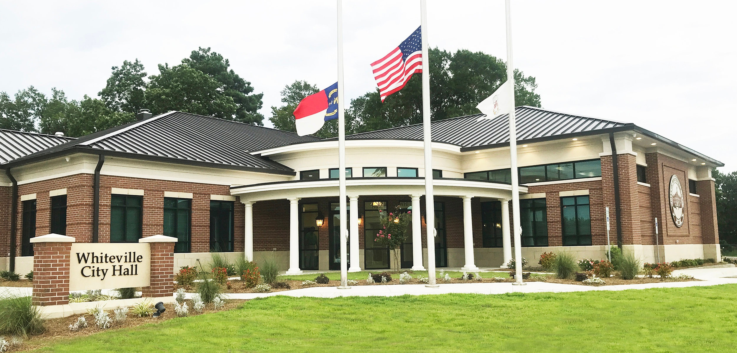 The new City Hall opened to the public on Monday, July 22, at 317 Madison Street.