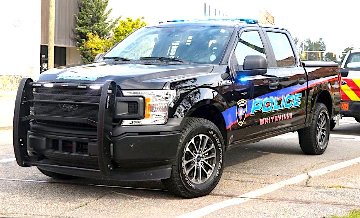 Whiteville Police truck